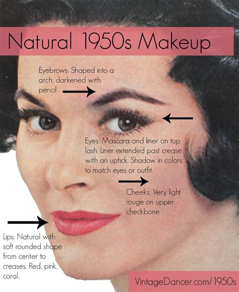 tutorial makeup natural sekolah authentic natural 1950s makeup history and tutorial