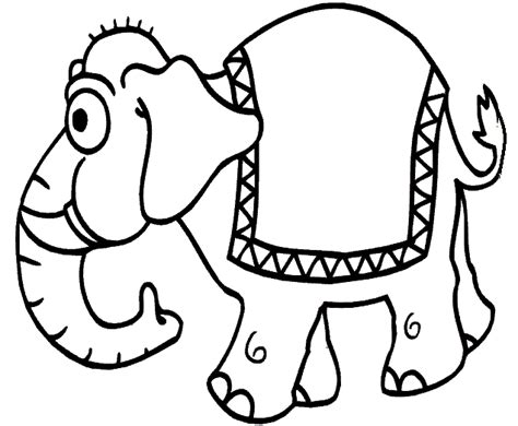 Free Coloring Pages Elephant Coloring Pages Sheets Coloring For