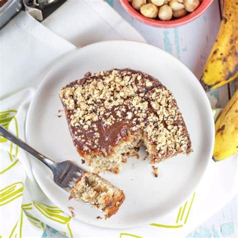 Gluten Free Banana Nutella Cake banana nutella cake bunsen burner bakery