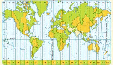 los horarios espa 241 oles y sus efectos alan walker mapa de husos horarios del mundo 1 4 los husos horarios