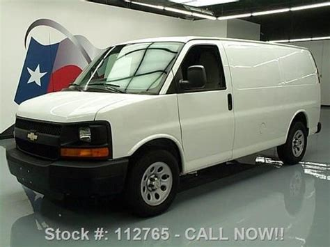 auto air conditioning service 2001 chevrolet express 2500 engine control buy used 2013 chevy express 2500 cargo van air conditioning 16k texas direct auto in stafford