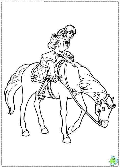 coloring pages of barbie and her sisters and in a pony tale barbie coloring pages printable her