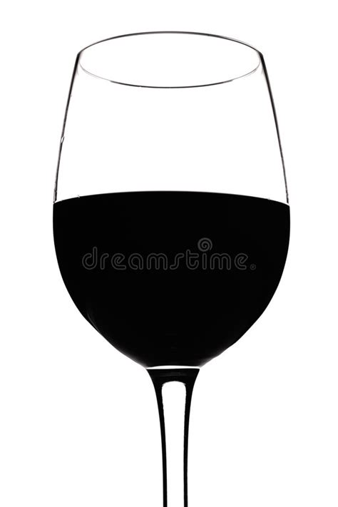 wine glass silhouette wine glass silhouette white stock photo image