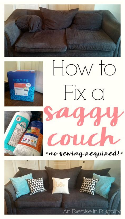 How To Fix Sag by How To Revive Your Saggy An Exercise In Frugality