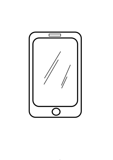 Iphone Coloring Pages iphone coloring