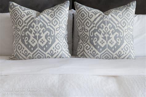 ikat pillows natalie fuglestveit interior design