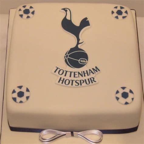 One Tier Tottenham Football Birthday Cake   Neo Cakes