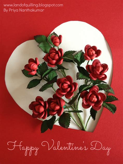 the art of quilling valentine s day special the art of quilling