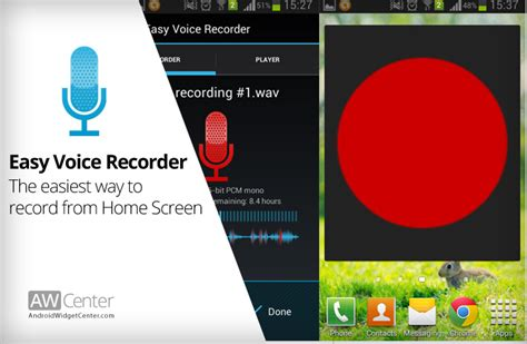 android voice recorder easy voice recorder for android aw center