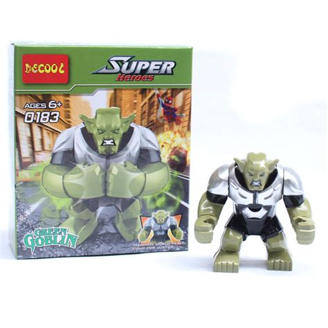 Decool 0183 Big Green Goblin Minifigure Lego Rmx8 lego big promotion shop for promotional lego big on aliexpress