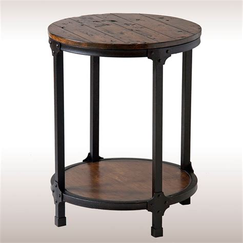 Rustic Accent Table Macon Rustic Accent Table
