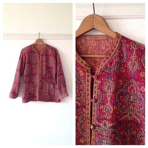 indian jacket indian boho jacket quilted jacket womens