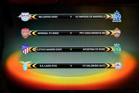 arsenal europa league draw arsenal draw cska moscow in europa league new straits