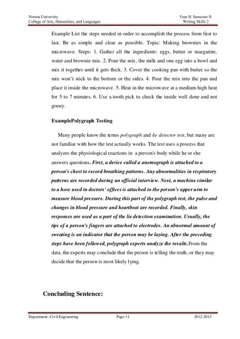 Conclusion Essay Sle sle essays process analysis how 100 images