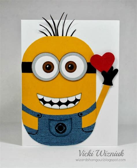 Minion Card Template by Best 20 Minion Card Ideas On Bday Cards