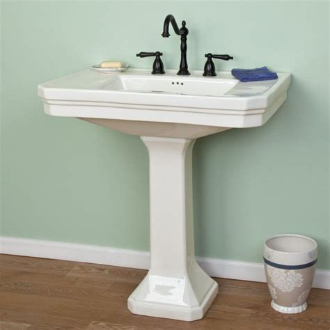 kacy porcelain pedestal sink 17 best images about bathroom upstairs on