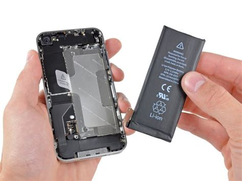 iphone 4 battery replacement ifixit repair guide