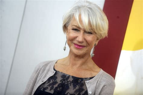 helen mirren hairstyles for l oreal 5 outrageous ideas for your helen mirren hairstyles