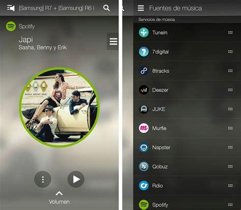 Samsung Multi Room App by Samsung R7 Y R6 Portable Probamos Los Altavoces Multiroom