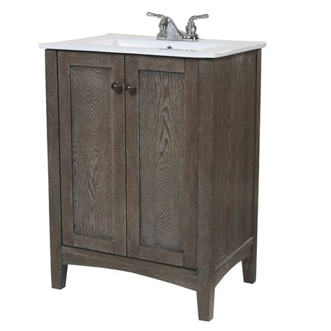 weathered oak bathroom vanity elegant lighting danville 34 quot bath vanity in weathered oak