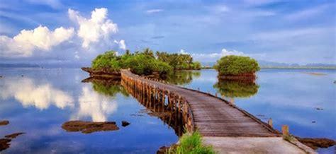 keindahan alam  pulau osi  terpencil jaringan kota