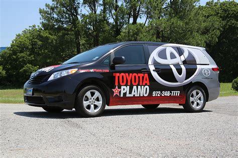 Toyota Of Plano Toyota Of Plano Partial Wrap Car Wrap City