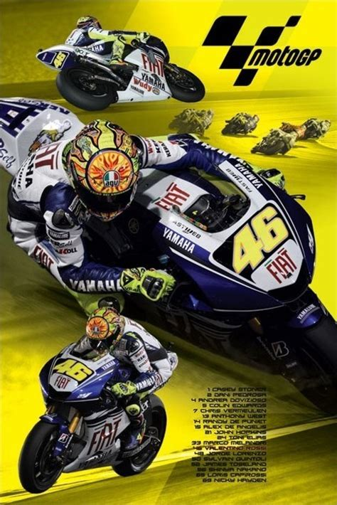 Moto Gp Valentino Rossi Poster Sold At Europosters