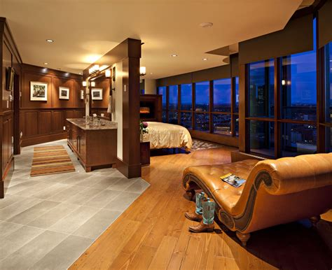 View the Keynote Calgary Luxury Penthouse Master Bedroom