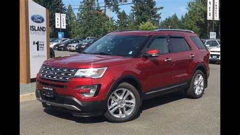 2017 ford explorer limited review 2017 ford explorer limited 301a awd review island ford