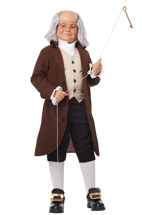 founding father benjamin franklin colonial child costume