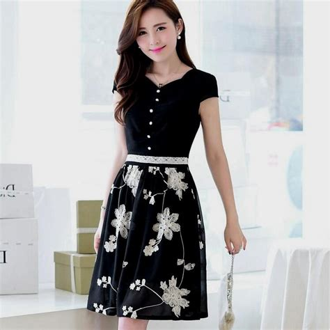 Dress Korea korean summer dresses naf dresses