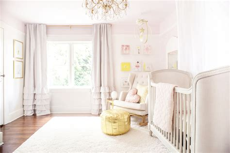 pink and gold baby room a baby s pink dreamy nursery winter interiors for children