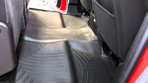Floor Mats For Chevy Silverado 2013 Review Of The Weathertech Rear Floor Liner On A 2013