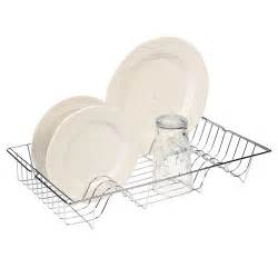 Kitchen Sink Dish Drainers Metal Chrome Wire Dish Rack Kitchen Sink Drainer Washing Up Draining Holder Tray Ebay