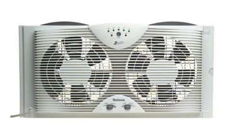 bionaire twin window fan 5 best window fans fit most windows