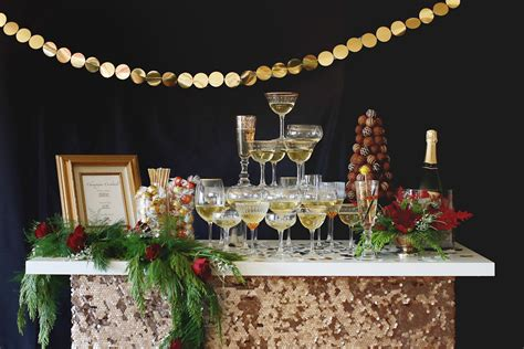 celebrate  style   chocolate champagne holiday open house party evite