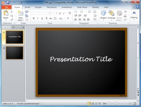 Board Presentation Template Bellacoola Co Board Powerpoint Template