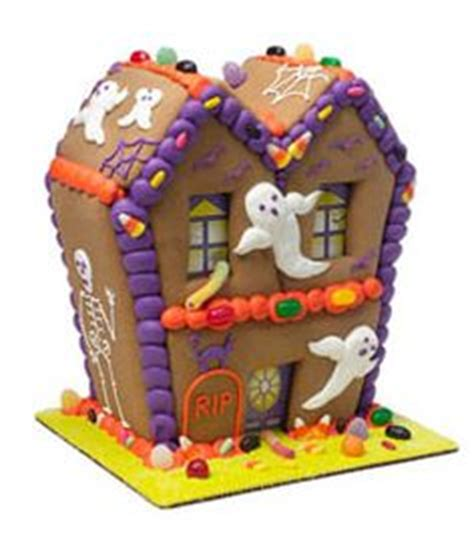 haunted gingerbread house kit halloween houses on pinterest halloween gingerbread house haunted gingerbread house