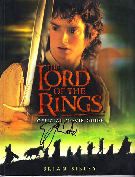 elijah wood basketball elijah wood autographed lord of the rings official movie