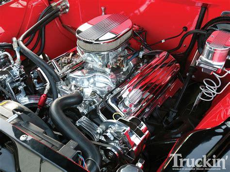 chevrolet big block engine 1957 chevy truck 454 big block chevy engine truckin