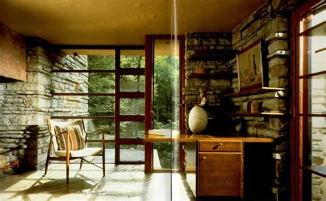 falling water interior fallingwater by frank lloyd wright 017 ideasgn