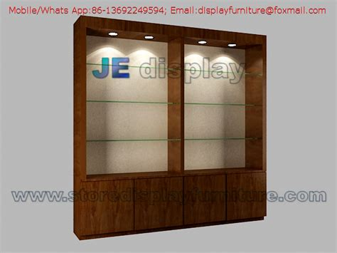display cabinets for retail stores high display cabinet in wall by wood veneer lacquer with