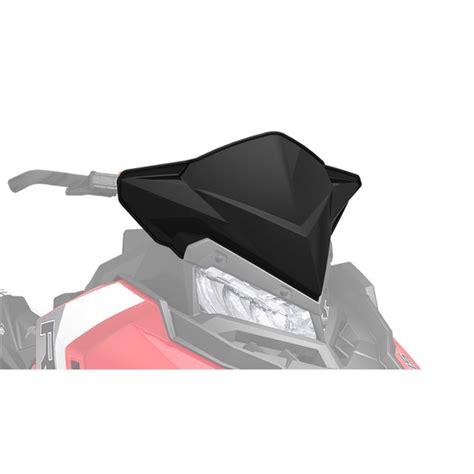 Windshield Black 45 snow mid windshield gloss black 2016 polaris 800 switchback pro s