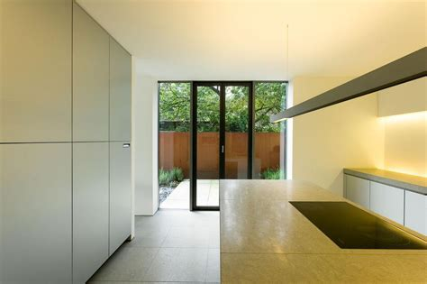 Kitchen, Patio Doors, Möllmann Residence in Bielefeld, Germany