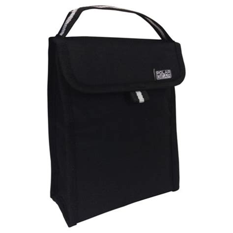 buy polar gear black lunch bag from our lunch bags boxes