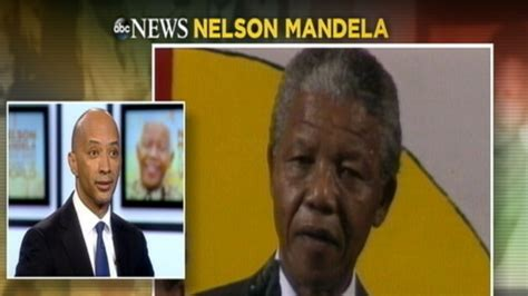 nelson mandela biography report nelson mandela to byron pitts good and evil are