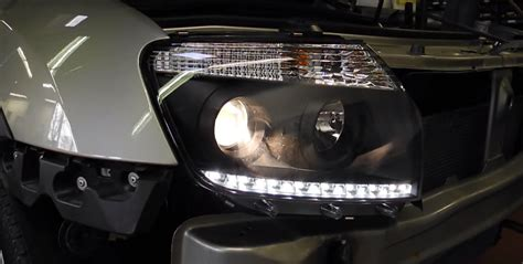 Aftermarket Lights dacia duster gets aftermarket headlights with integrated led daytime runners autoevolution