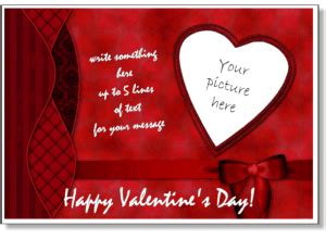 kyogre valentines day cards templates s photo card templates add your picture to
