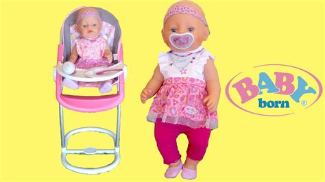 how to dress baby for bed baby born highchair baby dolls feeding eating potty