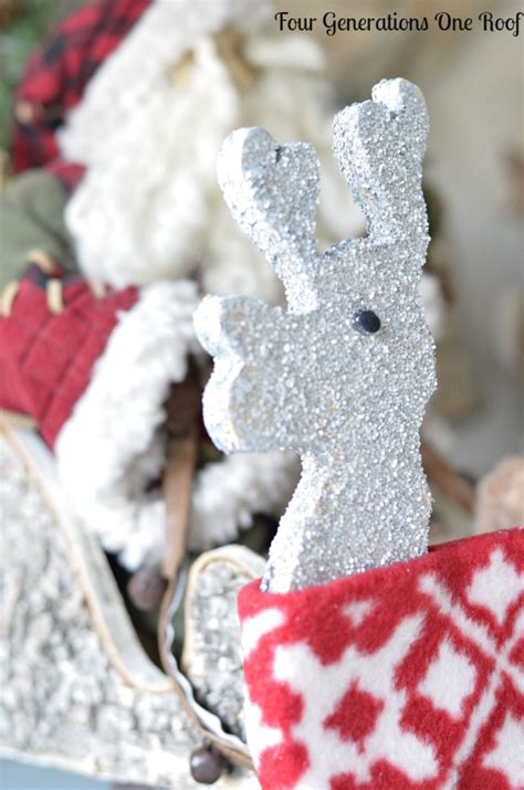 diy decorations reindeer decorations our reindeer more four generations one roof